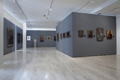 Collection's exhibition, installment view
