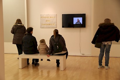 From Stone to Video, installation view, Museum of Fine Art, 2018